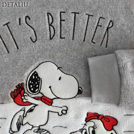 Poze Pijamale Dama Pufoase si Calduroase, Sweet Dreams,'Snoopy It's Better Together'