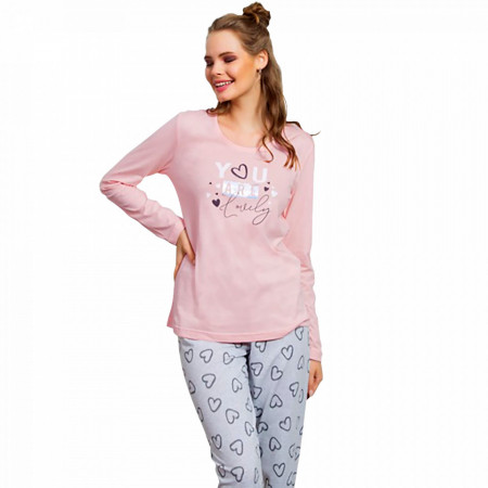 Pijamale Dama Vienetta, 'You Are Lovely' Pink