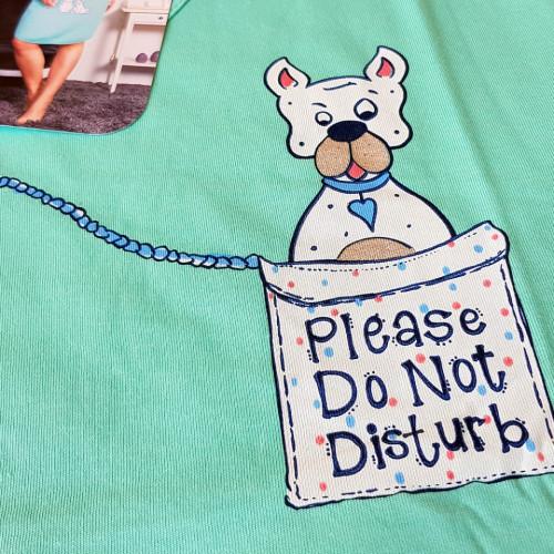 Camasa Dama Vienetta, Bumbac 100%, 'Please Do Not Disturb'