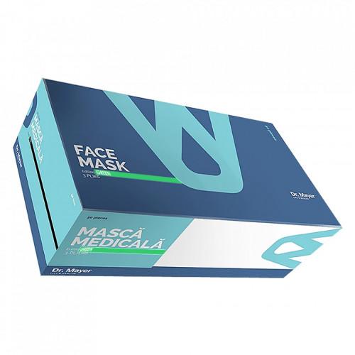 Masca Medicala Dr. Mayer Green Edition, Cutie 50 Bucati