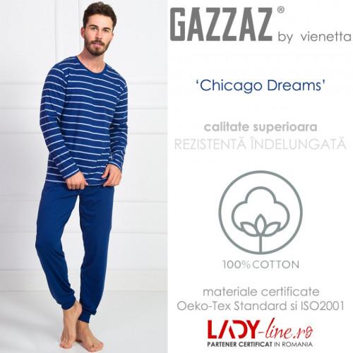 Pijama Barbati Gazzaz by Vienetta, 'Chicago'