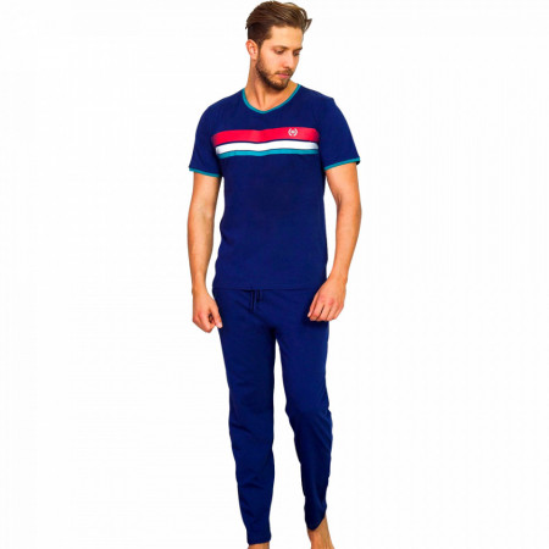 Pijamale Barbati din Bumbac 100% Gazzaz by Vienetta 'Generation Plus'