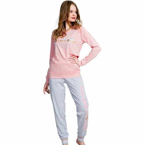 Pijamale Dama Vienetta 'You are So Bunny Funny'