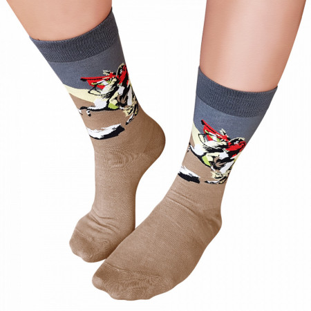 Sosete Clasice Colorate Unisex Cosas Boutique Socks Model 'Napoleon Empire'