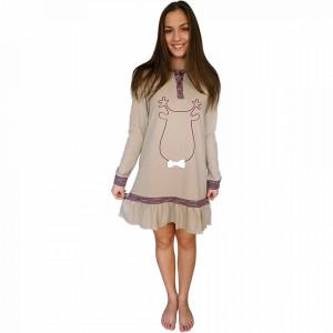 Nightwear Snelly L'Originale, 'Sweet & Happy' Brown