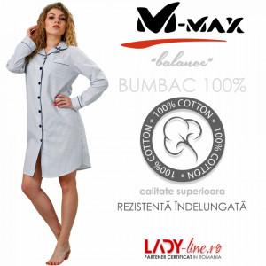 Camasa de Noapte M-Max, Bumbac 100%, 'Balance'