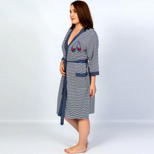 Halate Dama cu Fermoar Marimi Mari Vienetta Model 'Marina Style'