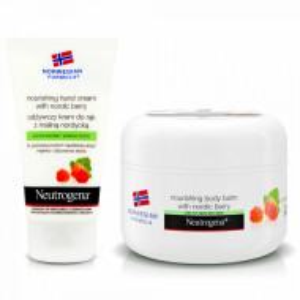 Kit Ingrijire Personala Crema Maini si Corp Neutrogena® Nordic Berry 'Norwegian Formula'