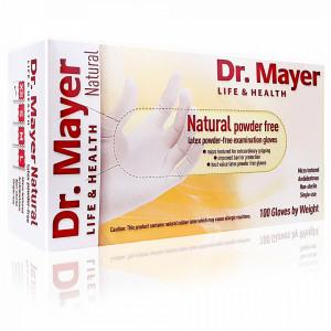 Manusi Examinare Nepudrate Latex Natural Alb Dr. Mayer 100 Bucati