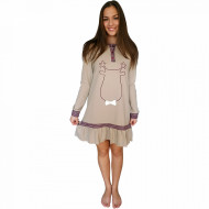 Nightwear Snelly L'Originale, 'Sweet & Happy' Brown