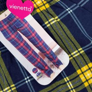 Pantaloni Dama Pijama din Bumbac Vienetta 'Lounge'
