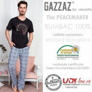 Pijama Barbati Maneca Scurta, Gazzaz by Vienetta, 'Speed & Calm'