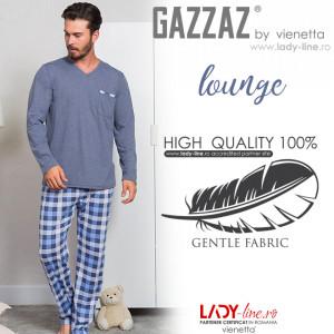 Pijama Barbati Marimi Mari Gazzaz by Vienetta 'Lounge'