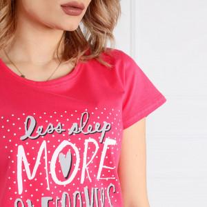 Pijama Dama Bumbac 100% Muzzy, Model 'Love Sleep'