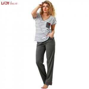 Pijama Dama M-Max, Bumbac 100%, 'Confort Line'