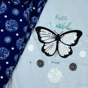 Pijama Dama Marimi Mari Vienetta, 'All will be Beautiful Blue'