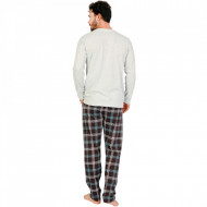 Pijamale Barbati Confortabile Gazzaz by Vienetta Model 'Dragons No Limits' Gray