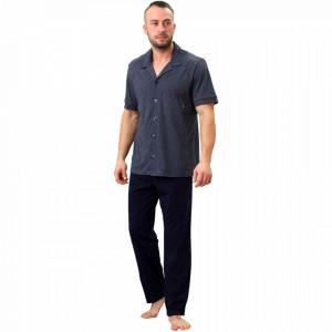 Pijamale Barbati M-Max, Bumbac 100%, 'North Adventure'