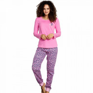 Pijamale Dama Vienetta, 'Charme Black Cat' Pink