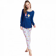 Pijamale Dama Vienetta Dream, 'Eggcellent - Better Togeter'
