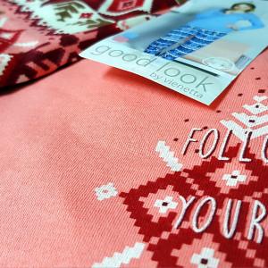Pijamale Good Look Bumbac 100% Interloc, 'Winter Tradition'