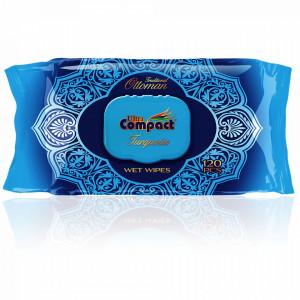 Servetele Umede Igienizante si Hidratante Traditional Ottoman Ultra Compact 120 Buc