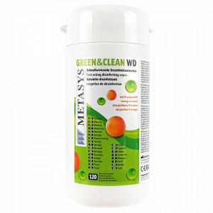 Servetele Dezinfectante Green&Clean WD® Metasys Medizin 120 Bucati