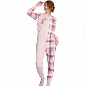 Salopeta Dama Vienetta 'Sweet Dreams Baby' Pink Bumbac 100%