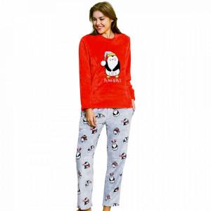 Compleu Extra Soft Dama, Vienetta, Model 'Cute Penguins'