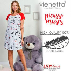 Camasa de Noapte Vienetta, Model 'Picasso Muses'