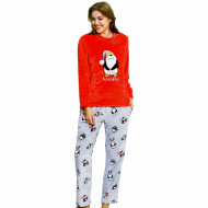 Compleu Extra Soft Dama, Vienetta, Model 'Cute Penguins'