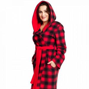 Halat Dama Marimi Mari din Polar Fleece Vienetta 'Red Polar'