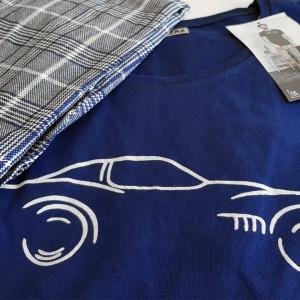 Pijama Barbati Gazzaz by Vienetta, 'Racing Love'