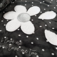 Pijama Dama Soft Velur, Vienetta, 'I love me...You love me too'