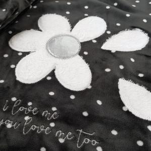 Pijama Dama Soft Velur, Vienetta, 'I love me...You love me too'