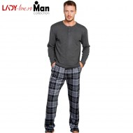 Pijama Interlock Barbati Gazzaz by Vienetta, 'Authentic Man'