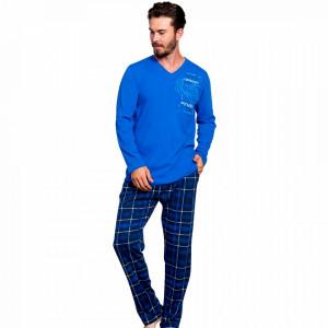 Pijamale Barbati Bumbac 100% Gazzaz by Vienetta 'Future Cross/Fit'