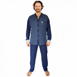 Pijamale Cu Nasturi Barbati, Contro Senso, 'Classic In Top' Blue