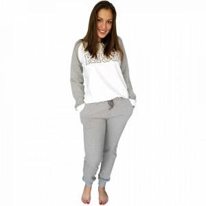 Pijamale Dama Maneca Lunga Milk and Honey, Model Kiss