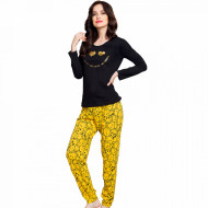 Pijamale Dama Vienetta Bumbac 100% 'Smile Everyday'
