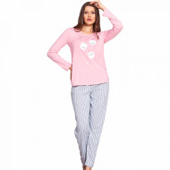 Pijamale Dama Vienetta Model 'Amici di Pello' Pink