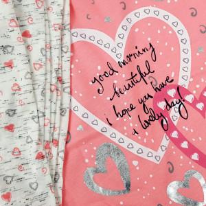Pijamale Dama Vienetta Model 'Good Morning, Beautiful!' Pink