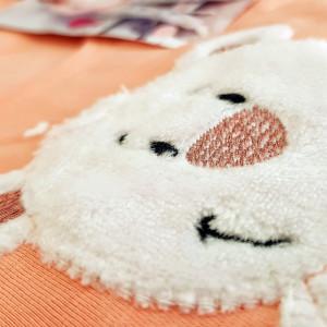 Pijamale Vienetta din Bumbac 100%, Model 'Happy'