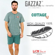 Pijamle Barbati Gazzaz by Vienetta Model 'Cottage 42 Run'