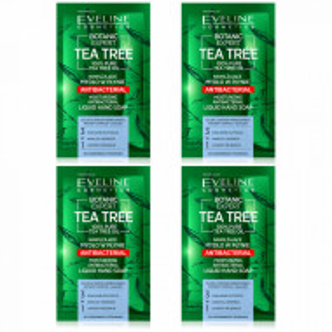 Set Sapun Lichid Calatorie Hidratant Antibacterian Botanic Expert Tea Tree Eveline Cosmetics
