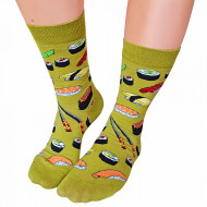 Sosete Clasice Colorate Unisex Cosas Boutique Socks Model Sushi Lovers