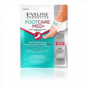 Tratament Exfoliant Calcaie FootCare Med+ Eveline Cosmetics