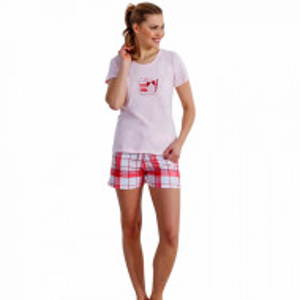 Pijamale Vara Vienetta Bumbac, Model 'Bonjour'
