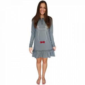 Abbigliamento da Notte Snelly L'Originale, 'Sweet & Happy' Gray