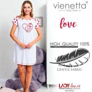 Camasa de Noapte Vienetta, Model 'Love Always Wins'